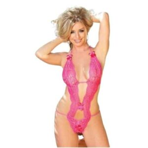Body Pleasure Pink blonde bodystocking