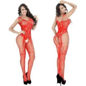 Body Pleasure Rød catsuit