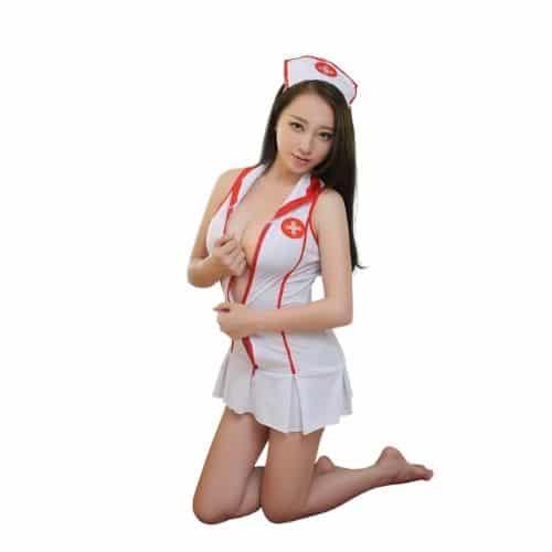 Body Pleasure Sygeplejerske kostume