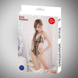 Body Pleasure leopard bodystocking