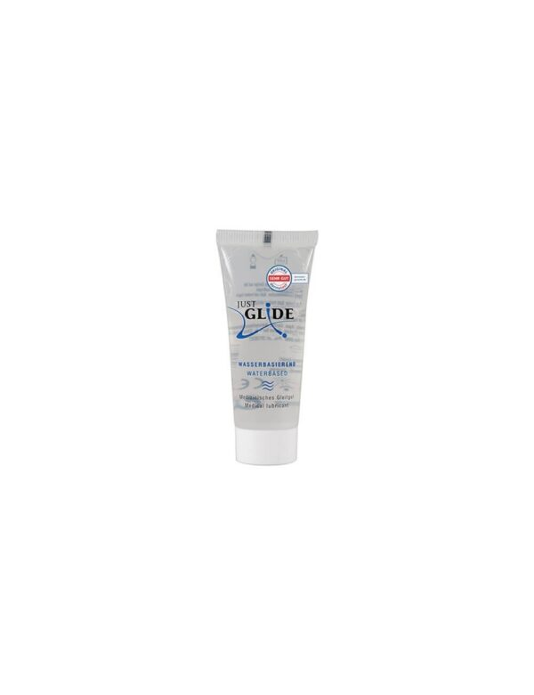 Just Glide - Vandbaseret Glidecreme 20 ml