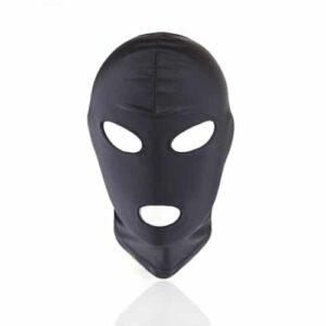 Kinky maske med hul til mund og øjne