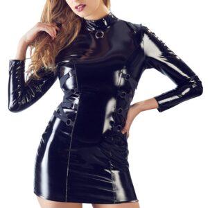 Lak-kjole langarm