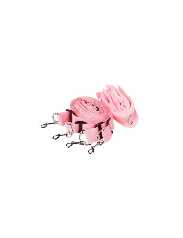 PlayHard - 4-Dels Fikseringssæt Pink