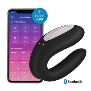 Satisfyer Double Joy App-styret par vibrator