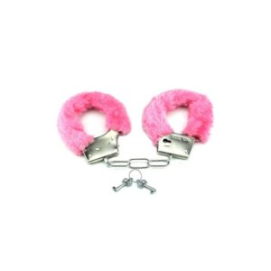 SimplePleasure - Plys Håndjern Pink