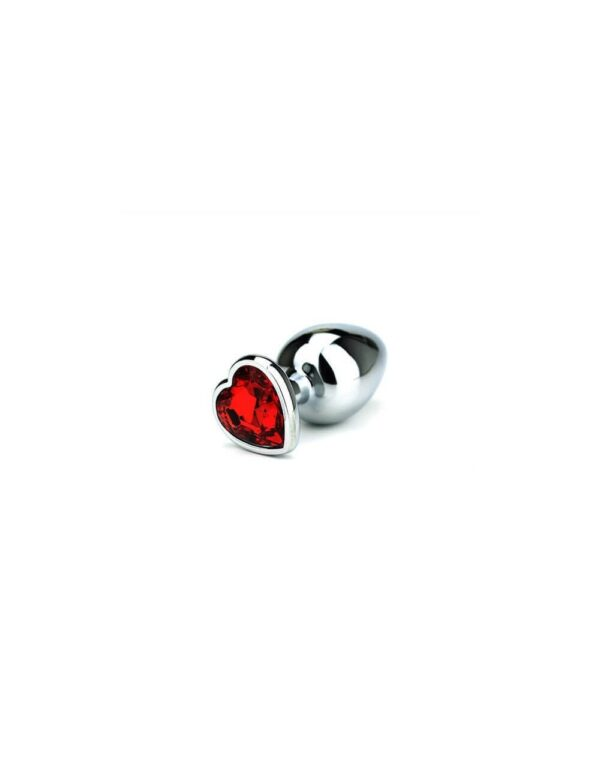 Toria - Jewel Heart Butt Plug Large