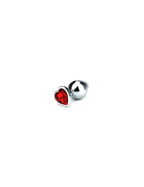 Toria - Jewel Heart Butt Plug Medium