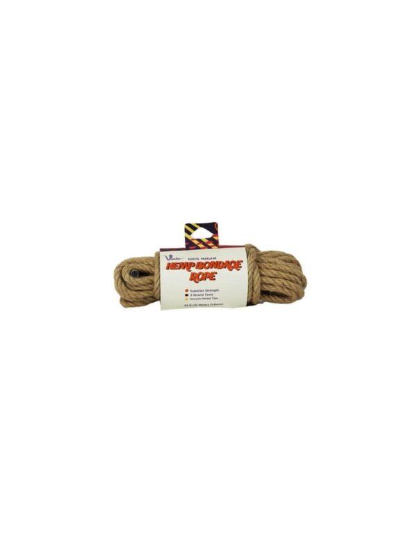 Voodoo - Naturligt Hamp Bondage Reb 10 m