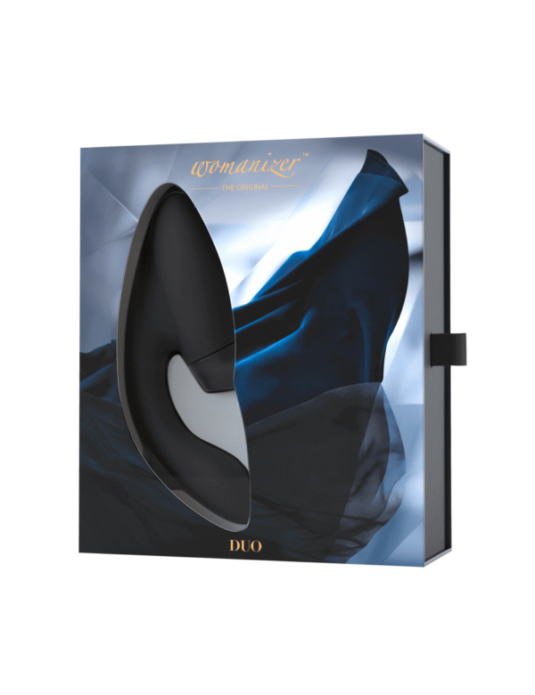 Womanizer - Duo Black Klitoris Vibrator