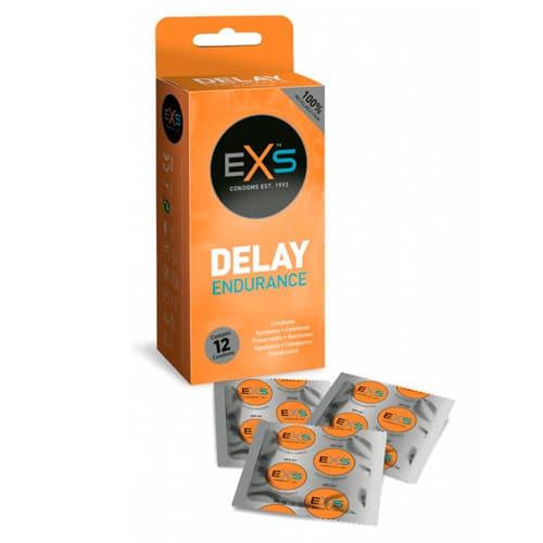 12 stk. EXS - Delay kondomer
