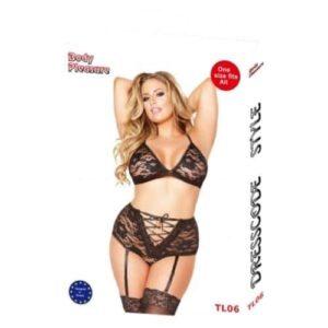 Body Pleasure Plus size lingeri sæt