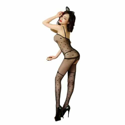 Body Pleasure Prikket catsuit