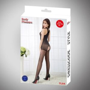 Body Pleasure bundløs catsuit i nylon