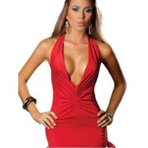Body Pleasure fræk kjole i rød
