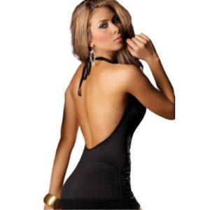 Body Pleasure fræk sort kjole
