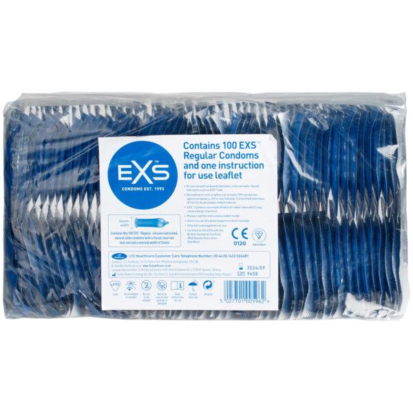 EXS Regular Kondomer 100 stk