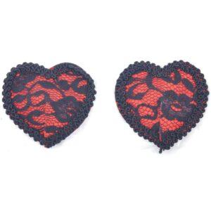 Hjerte nipple covers