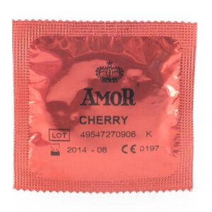 AMOR Cherry kondom - 1 stk