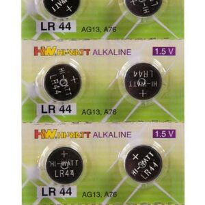 10 stk. knapcellebatterier
