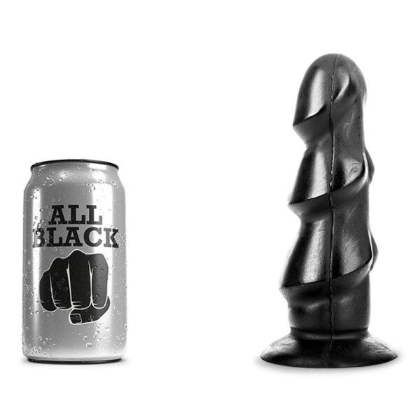 All Black 40 - Rillet Anal Plug