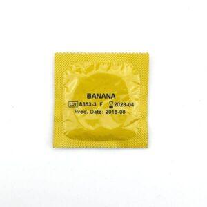 Amor - Kondom m. Banan Smag