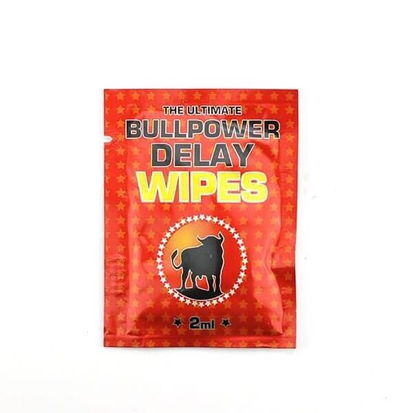 Bull Power - Delay Wipes