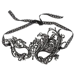 Cottelli - Elegant Broderet Maske