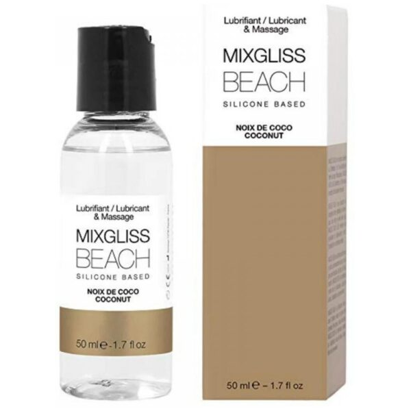 MIXGLISS Silicone Beach Coconut 50ml
