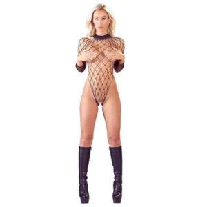 Mandy Mystery - Bundløs Net Bodystocking