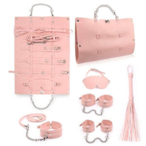PlayHard - Bondage Sæt m. Rejsetaske Pink
