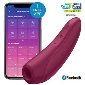 Satisfyer Curvy 1+ Rose Red
