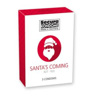 Secura Kondome - Santa's Coming Kondomer 3 stk
