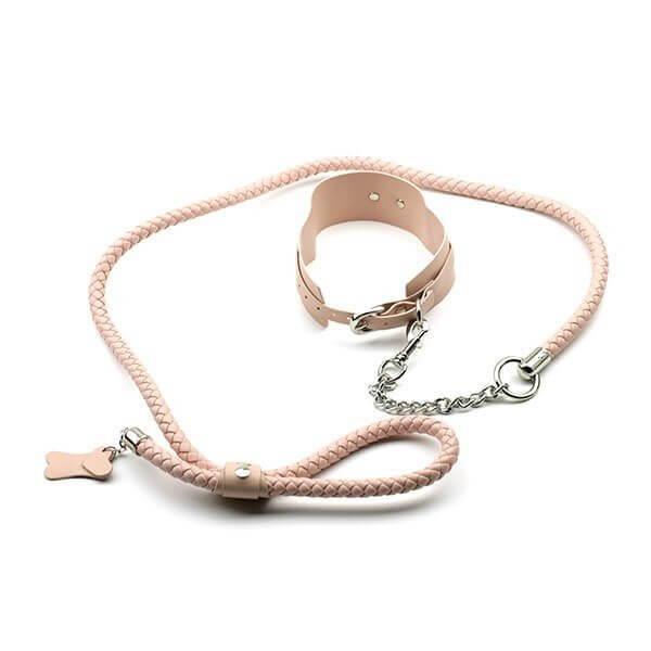 SimplePleasure - Serve Me Imiteret Læder Pink