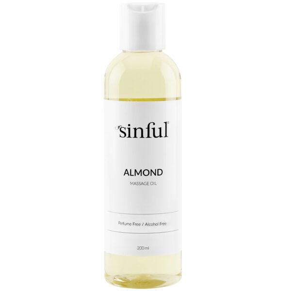 Sinful Mandel Massageolie 200 ml