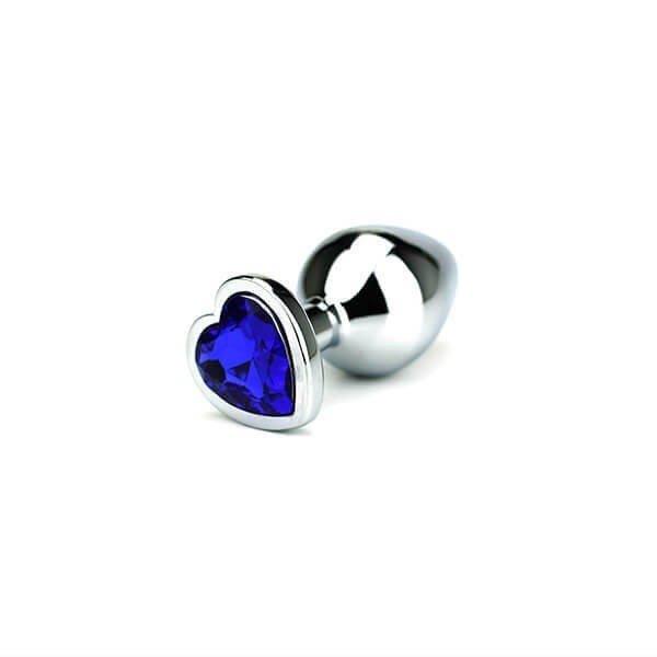 Toria - Jewel Heart Butt Plug Medium