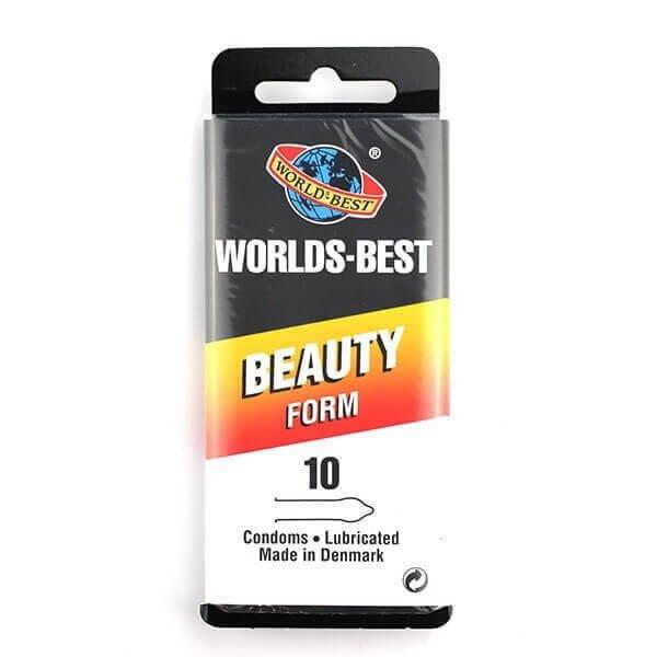 Worlds Best - Beauty Form Kondomer 10 Stk.