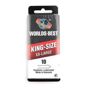 Worlds Best - King-Size XX-Large Kondomer 10 Stk.
