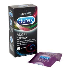 Durex Mutual Climax - Bedøvende Kondomer 10 stk.