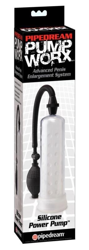 Silikone penispumpe-POWER