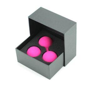 Delight - Bækkenbundskuglesæt 2 Stk Pink