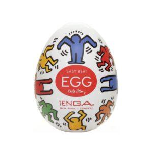 TENGA EGG KEITH HARING DANCE - MASTURBATOR