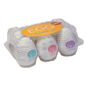 Tenga 6 pack onani æg