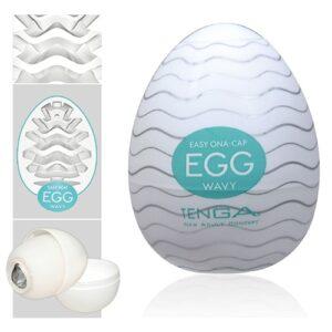 Tenga Wavy onani æg til håndjob