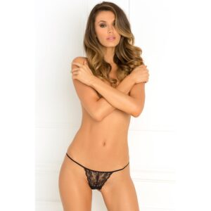 Got Your Back Crotchless Thong M/L