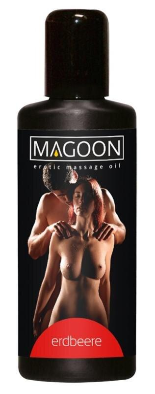 Magoon Massage Olie Jordbær