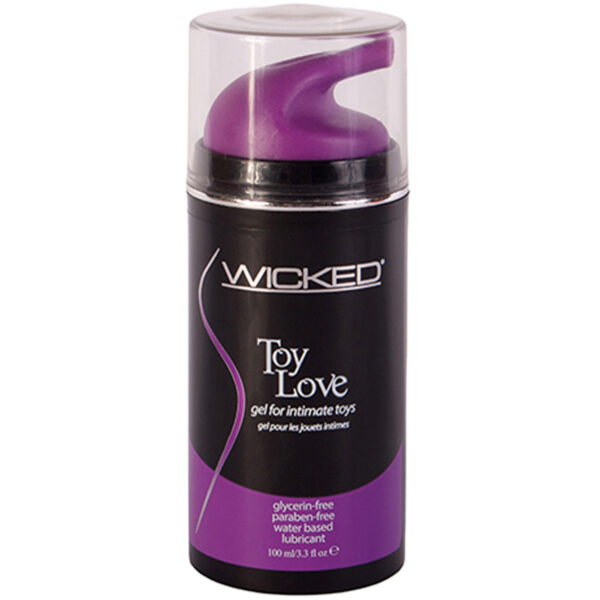 Wicked Toy Love Gel til Sexlegetøj 100 ml