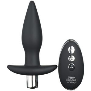 Fifty Shades of Grey Relentless Vibrations Fjernbetjent Butt Plug
