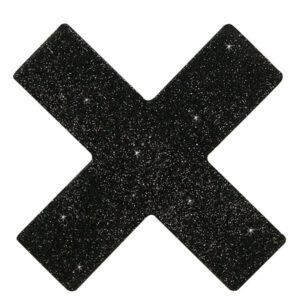 Cottelli - Kryds Nipple Covers
