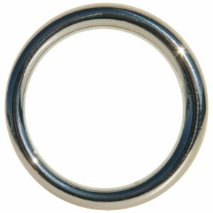 Edge Seamless Metal Ring 4,45 cm